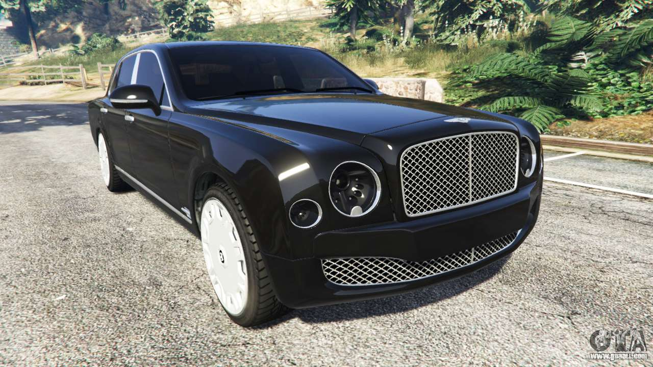 Bentley Mulsanne 2010 for GTA 5