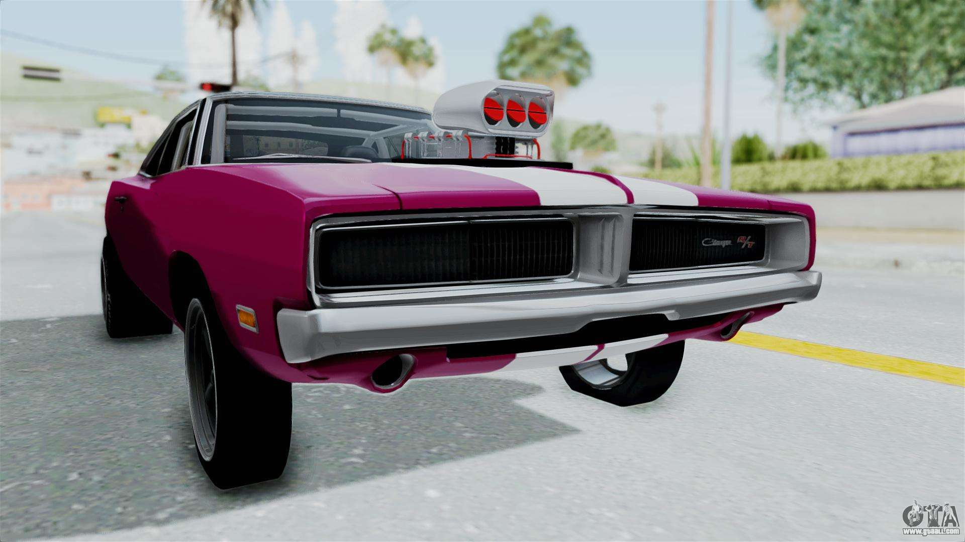 Dodge Charger 1969 Drag For Gta San Andreas
