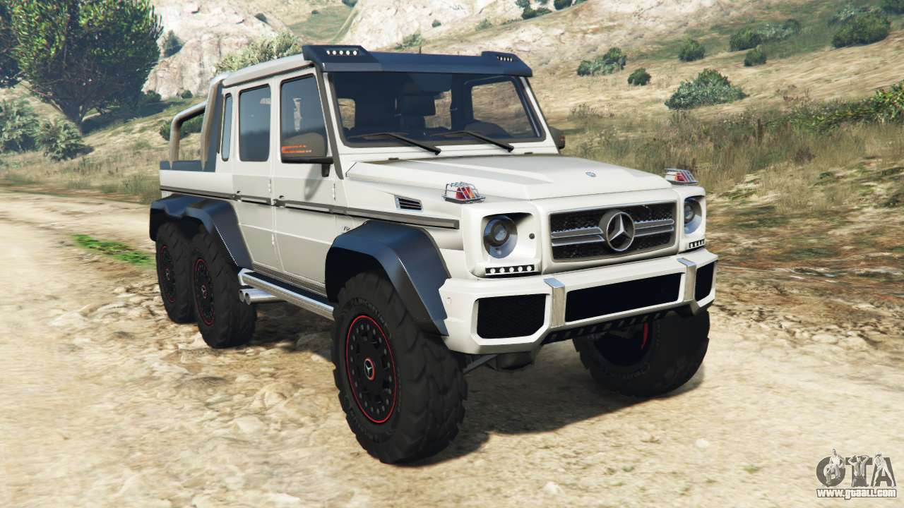 mercedes benz g65 amg 6x6 for gta 5. Black Bedroom Furniture Sets. Home Design Ideas