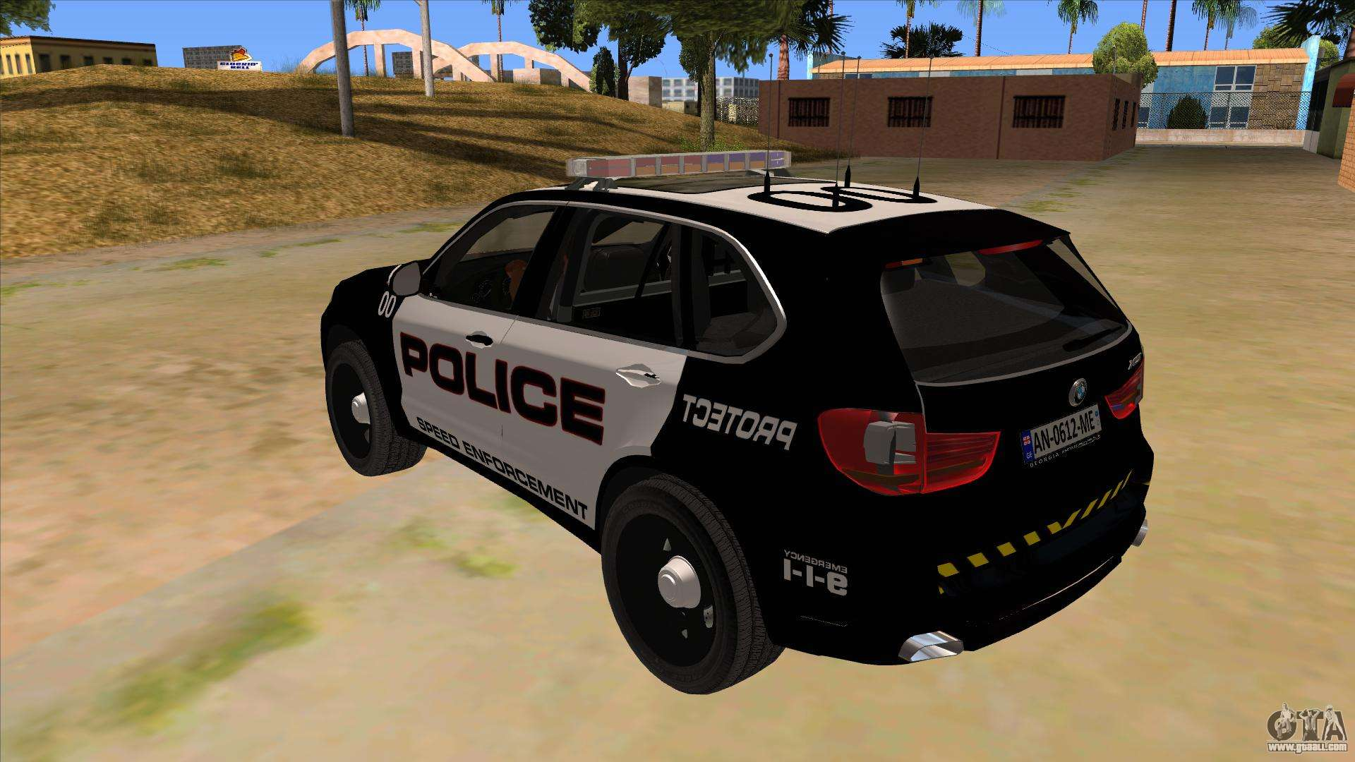 2014 BMW X5 F15 Police for GTA San Andreas