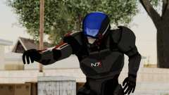 ME2 Shepard Default N7 Armor with Capacitor Helm