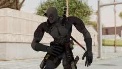 Black Deadpool for GTA San Andreas