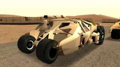 Army Tumbler Gun Tower from TDKR for GTA San Andreas