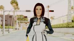 Mass Effect 3 Dr. Eva New Short Hair for GTA San Andreas
