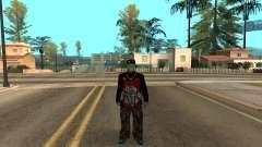 Varios Los Aztecas Gang Member v5 for GTA San Andreas