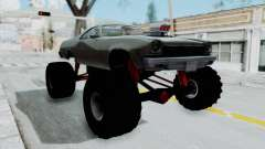 Chevrolet El Camino 1973 Monster Truck for GTA San Andreas
