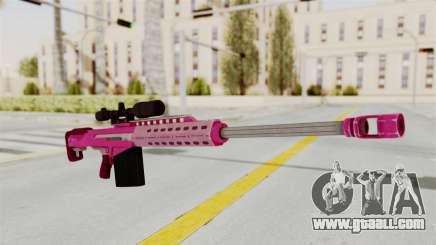 GTA 5 Heavy Sniper Pink for GTA San Andreas