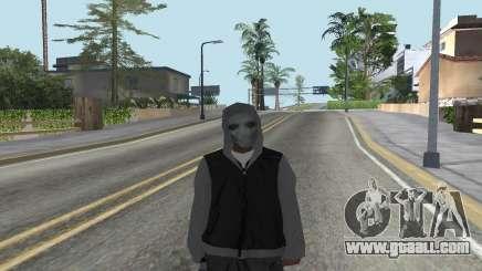 New bum for GTA San Andreas