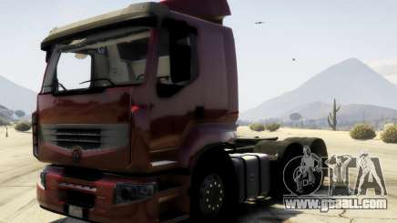 Renault Premium 6x4 for GTA 5