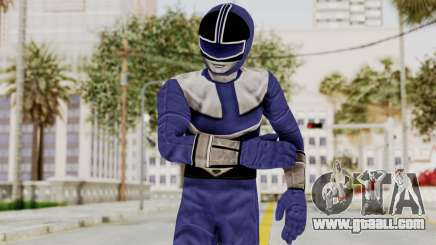Power Rangers Time Force - Blue for GTA San Andreas