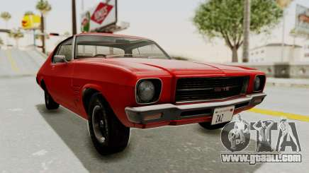 Holden Monaro GTS 1971 SA Plate IVF for GTA San Andreas