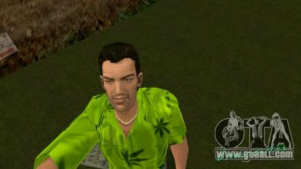 Weed T-Shirt for GTA Vice City