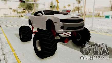 Chevrolet Camaro SS 2010 Monster Truck for GTA San Andreas