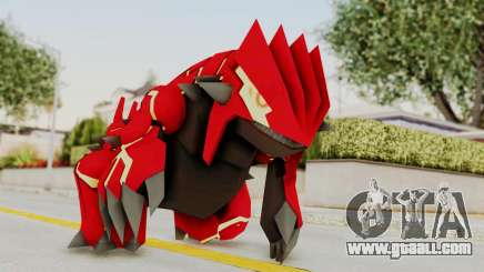 Mega Groudon for GTA San Andreas