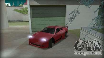 Ferrari F40 for GTA San Andreas