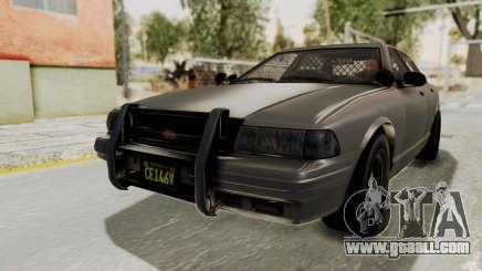 GTA 5 Vapid Stanier II Police Cruiser 2 IVF for GTA San Andreas
