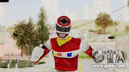 Power Rangers In Space - Red for GTA San Andreas