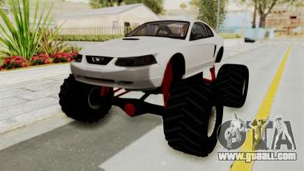 Ford Mustang 1999 Monster Truck for GTA San Andreas