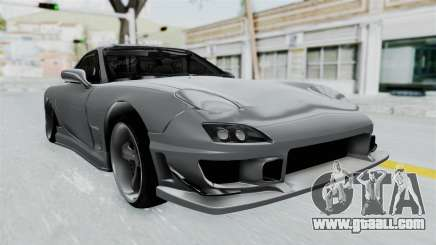 Mazda RX-7 FD3S HellaFlush for GTA San Andreas