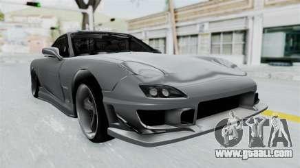 Mazda RX-7 FD3S HellaFlush for GTA San Andreas