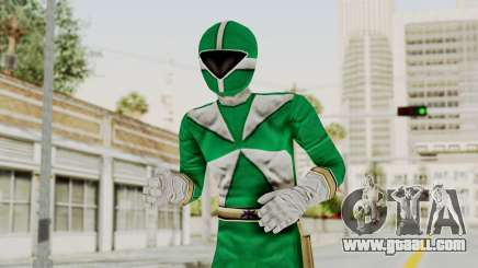 Power Rangers Lightspeed Rescue - Green for GTA San Andreas