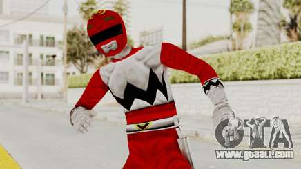 Power Rangers Lost Galaxy - Red for GTA San Andreas