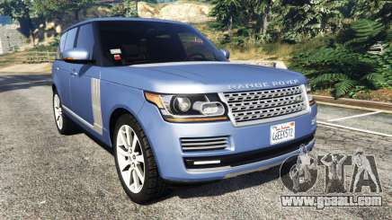 Range Rover (L405) Vogue 2013 for GTA 5