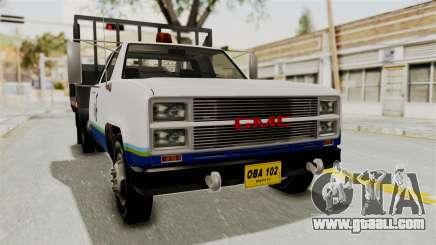 GMC Sierra 3500 pickup truck for GTA San Andreas