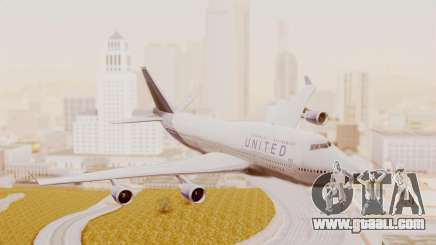 Boeing 747-400 United Airlines for GTA San Andreas