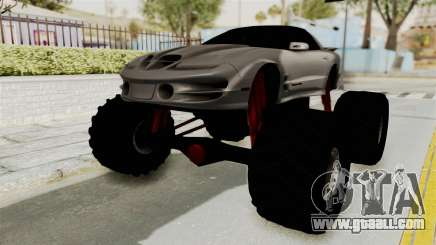 Pontiac Firebird Trans Am 2002 Monster Truck for GTA San Andreas