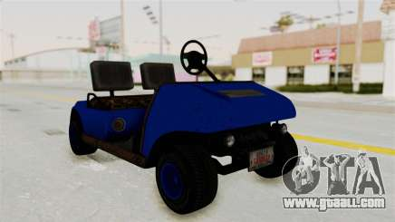 GTA 5 Gambler Caddy Golf Cart IVF for GTA San Andreas