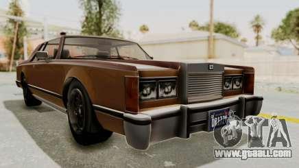 GTA 5 Dundreary Virgo Classic for GTA San Andreas