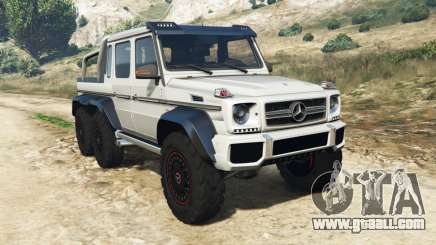 Mercedes-Benz G65 AMG 6x6 for GTA 5