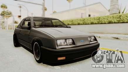 Ford Sierra Mk1 Drag Version for GTA San Andreas