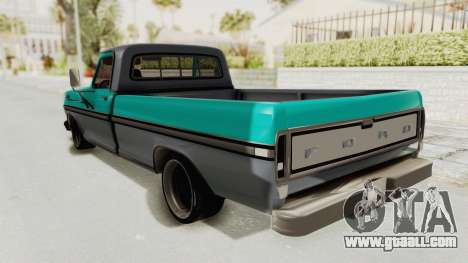 Ford F-150 Black Whells Edition for GTA San Andreas left view