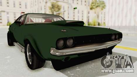 Dodge Challenger 1971 for GTA San Andreas back left view