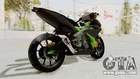 Yamaha MX King 150 Modif 250 GP for GTA San Andreas right view