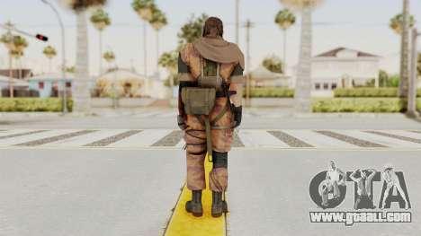 MGSV The Phantom Pain Venom Snake Scarf v5 for GTA San Andreas third screenshot