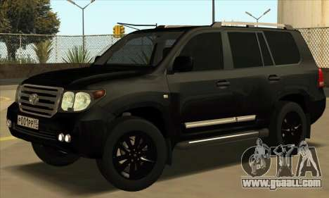 Toyota Land-Cruiser 200 for GTA San Andreas left view