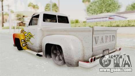 GTA 5 Slamvan Lowrider PJ1 for GTA San Andreas upper view