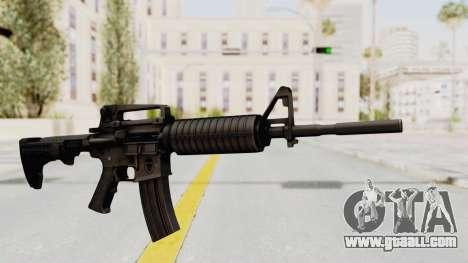 HD M4 v1 for GTA San Andreas