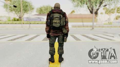 Battery Online Russian Soldier 10 v3 for GTA San Andreas third screenshot