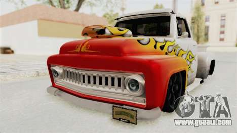 GTA 5 Slamvan Lowrider PJ1 for GTA San Andreas side view