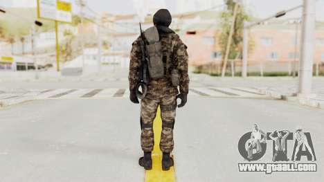 CoD MW3 Russian Military SMG v2 for GTA San Andreas third screenshot