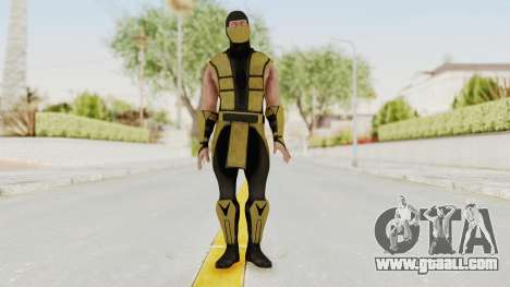 Mortal Kombat X Klassic Scorpion for GTA San Andreas second screenshot