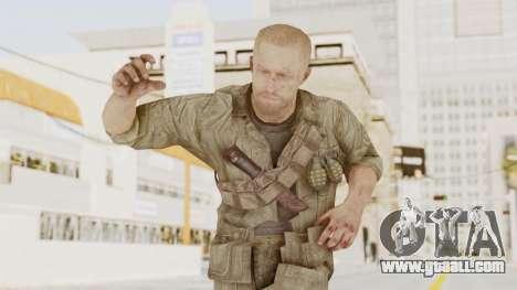 COD BO Dempsey for GTA San Andreas