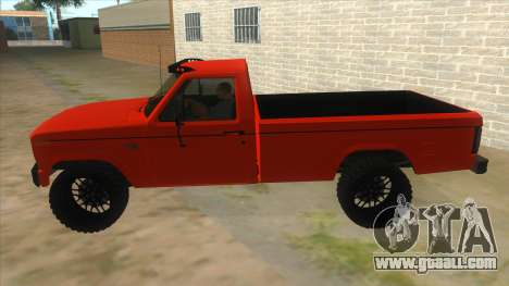 1984 Ford F150 Final for GTA San Andreas left view