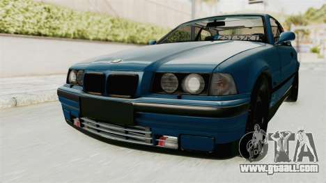 BMW 325i E36 for GTA San Andreas back left view