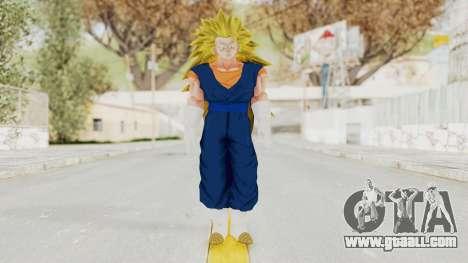 Dragon Ball Xenoverse Vegito SSJ3 for GTA San Andreas second screenshot