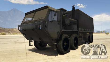 Heavy Expanded Mobility Tactical Truck for GTA 5